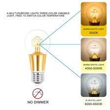 Candle Light Color Temperature Us 58 86 39 Off Mifxin 10 Pcs 3 Color Temperature 10w Led Candle Light E12 85 265v 3000k 4500k 6000k Led Bulbs Lamp Christmas Chandelier Light In