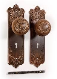 antique bronze door knobs. SOLD Antique Bronze P. \u0026 F. Corbin \u201cLorraine\u201d Door Knob Set With. \u2039 \u203a Knobs O
