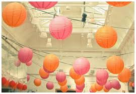 Room Decorating With Paper Paper Wedding Decorations Romantic Decoration