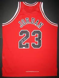 Red Michael Jordan Bulls Jersey