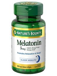 Melatonin 5 Mg 90 Rapid Release Softgels Natures