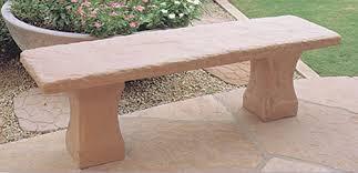 Scottsdale Outdoor Concrete Benches, Santa Fe Outdoor Concrete Benches