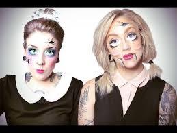 broken dolls makeup tutorial you makeup