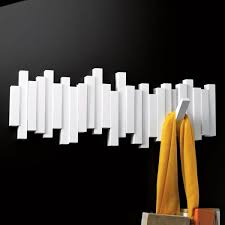 White Coat Hook Rack 100 Modern Coat Racks To Spruce Up Your Entryway 32