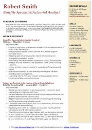 Actuary Resume Example Best Of Actuarial Analyst Resume Samples QwikResume