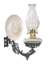 metal reflector type iron wall bracket lamp with no 2 oil burner