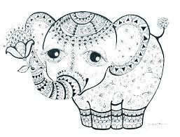 elephant coloring sheet elephant coloring pages coloring pages elephant coloring pages of elephants abstract elephant coloring