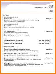 10 Types Of Resume Format Xavierax