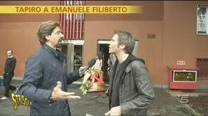 Tapiro d'oro a Emanuele Filiberto - Video - Striscia la Notizia