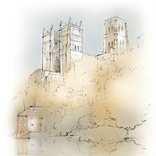 Architectural drawings of famous buildings Easy Architectural Sketch Of Durham Cathedral Bored Panda Top Architecture Illustrators Construction Building Illustrations