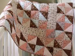 handmade baby quilt modern patchwork quilt crib quilt play mat ... & handmade baby quilt modern patchwork quilt crib quilt play mat quilt cover  childs quilt with pink Adamdwight.com