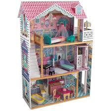 <b>KidKraft Трехэтажный дом</b> для кукол Барби Аннабель ...