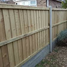 heavy duty fence panel feather edge boarded