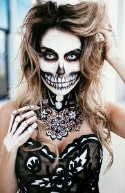 skeleton creative halloween makeup