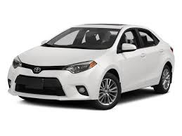toyota corolla 2015 white.  Corolla 2015 Toyota Corolla LE In Beaumont  TX  Kinsel With White 0