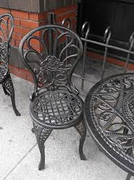 rot iron furniture. How To Restore Shine Wrought Iron Furniture Rot