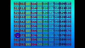 Counting To 200 Chart Number Chart 501 600 Number Chart 300 To 400 Number Chart
