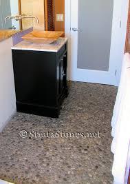 quail grey pebble tile stone flooring