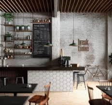 Coffee shop design  Break Time Coffee on Behance