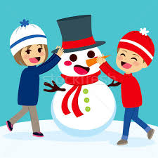 Image result for snowman cartoon images with children