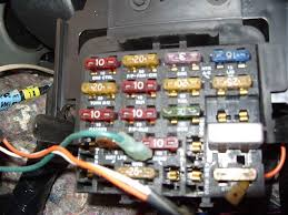 electrical problems third generation f body message boards i was told that the radio slot is the one a 10 amp fuse in it if so what is the arrow all about anyone know
