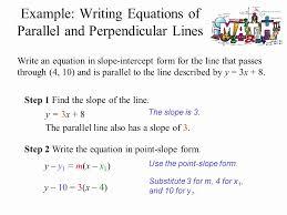 point slope intercept form examples unique what is the slope intercept form equation of the line
