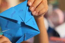 Downloadable Customizable Printable Paper Fortune Teller Fortune Teller Ideas
