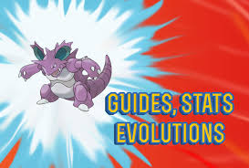 Nidoking Evolution Chart Pokemon Lets Go Nidoking Guide Stats Locations