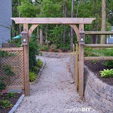 Small Picture DIY Garden Arbor