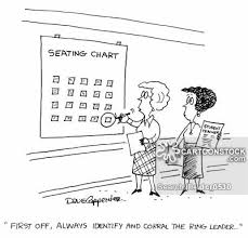 Seating Chart Cartoons And Comics Funny Pictures From Cartoonstock
