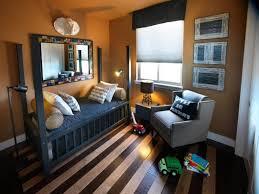 bedroom white duvet soft grey carpet plum slip cover wooden coffee table rich hardwood floor modern