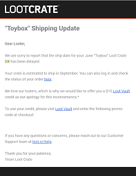 Loot Crate Dx News Hello Subscription