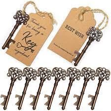 50pcs Wedding Favors Skeleton Key Bottle Opener ... - Amazon.com