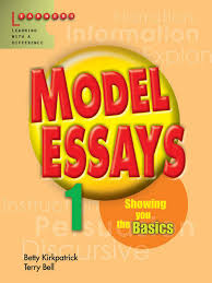 model essays book level by betty kirkpatrick terry bell on  model essays level 1 book