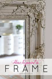 Framing A Large Mirror Best 25 Framing A Mirror Ideas On Pinterest Framed Bathroom