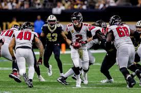 Thanksgiving Day Evening Game New Orleans Saints Atlanta