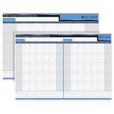 Day Timer Write On Wipe Off 30 60 Day Double Sided Planner Calendar