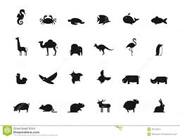 Animal Icon Animal Icon Set Vector Illustration Stock Vector