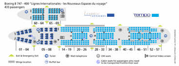 747 400 Seating Chart United Airlines Airlines Pictures Air France 747 400 Seating Plan