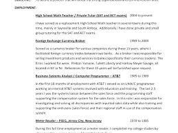 Math Tutor Resume Classy Tefl Resume No Experience Tutor Resume Examples Tutor Resume