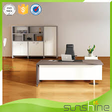 white wood office desk. Modren Office Popular White Wooden Office Table Modern Design Executive CEO Desk Boss  With Side  Throughout Wood
