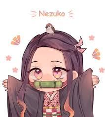 vẽ chibi nezuko hoặc vẽ lại pic dưới :> app hay vẽ tay thì tùyNezuko