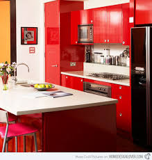 kitchen designs red kitchen furniture modern kitchen. Attractive Red Kitchen Cabinets Lovely Modern Interior Ideas With 15 Extremely Hot Home Design Lover Designs Furniture