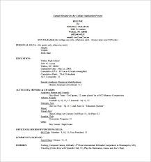college admission resume builder college applicant resume sample steadfast170818 com