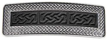 Oberon Design Hair Clips Oberon Design Celtic Braid Hair Clip Hand Crafted
