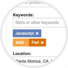 Resume Database Boolean UI