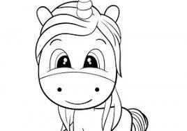 Disegni Unicorno Kawaii