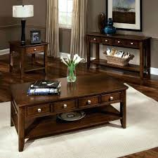 two small coffee tables centerpiece coffee and side tables set dark brown wood coffee and two small coffee tables