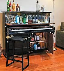 Creative Old Piano Repurposing Idea. Give your old piano a new life, and  showcase