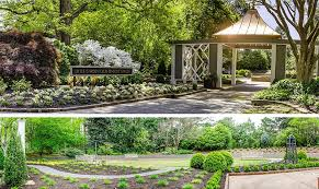 the sensory garden at memphis botanic garden one of many outdoor areas ideal for a